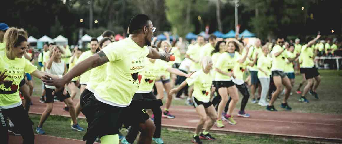In salute con la Longevity Run