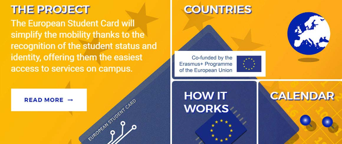 La European Student Card è vicina