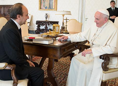 offrire sconti immagini ufficiali sezione speciale Il Rettore in udienza dal Papa | Università Cattolica del ...